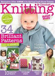 Knitting & Crochet issue April 2018
