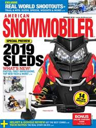 American Snowmobiler issue March 2018