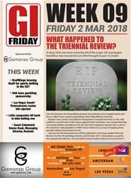 Week 9: 2nd Mar issue Week 9: 2nd Mar