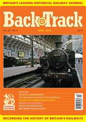 Backtrack issue April 2018
