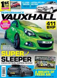 Performance Vauxhall issue April/May 2018