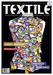 Textile Fibre Forum Issue 129 issue Textile Fibre Forum Issue 129