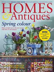 Homes & Antiques Magazine issue April 2018