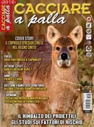 CACCIARE A PALLA issue Aprile 2018