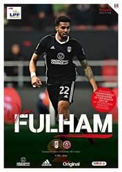 Fulham v Sheff Utd 2017/18 issue Fulham v Sheff Utd 2017/18