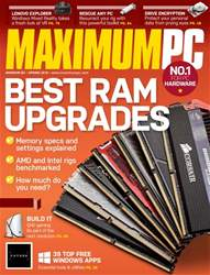 Maximum PC issue Spring 2018