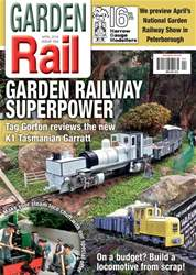 Garden Rail issue April 2018