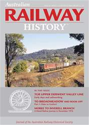 Australian Railway History issue ARH February 2018