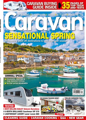 Caravan Magazine issue Caravan Magazine | Sensational Spring | Cornwall Special | April 2018