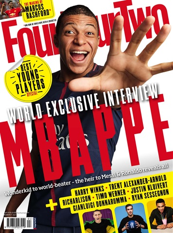 Four Four Two issue April 2018