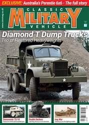 Classic Military Vehicle issue   April 2018