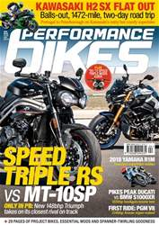 Performance Bikes issue April 2018