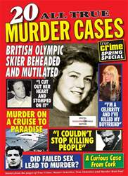 True Crime Magazine Cover