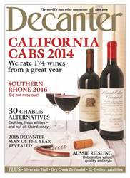 Decanter issue April 2018