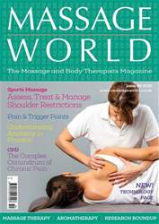 Massage World issue Massage World 99