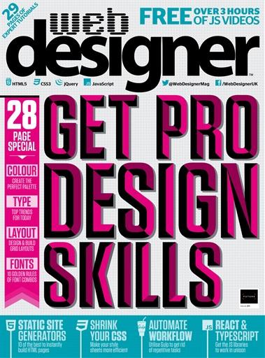 Web Designer Preview