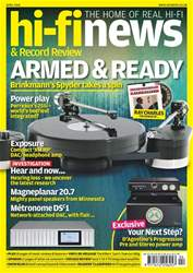 Hi-Fi News issue Apr-18