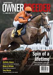 Thoroughbred Owner and Breeder issue March 2018 - Issue 163