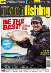 Match Fishing issue April 2018