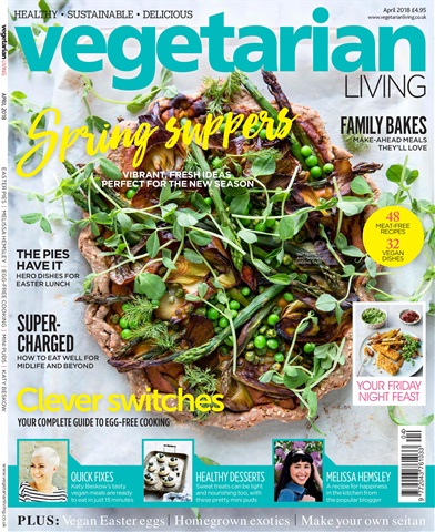 Vegetarian Living issue April-18