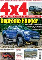 4x4 Magazine incorporating Total Off-Road issue April 2018