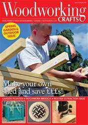 Woodworking Crafts Magazine issue April 2018