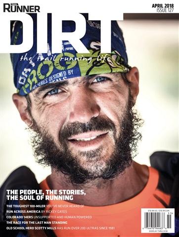 Trail Runner issue April, DIRT, 2018