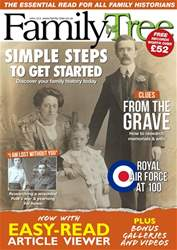 Family Tree April 2018 issue Family Tree April 2018