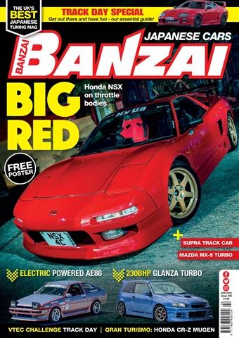 Banzai issue April 2018
