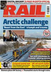 Rail issue Issue 848
