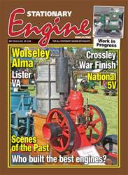 Stationary Engine issue May 2018
