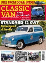 Classic Van & Pick-up issue April 2018