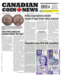 Canadian Coin News issue V55#26 - April 3