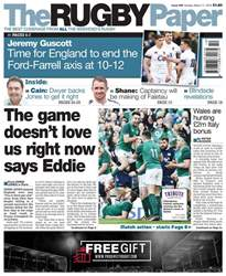 The Rugby Paper issue 11th March 2018