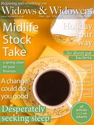 Widows And Widowers Magazine Cover