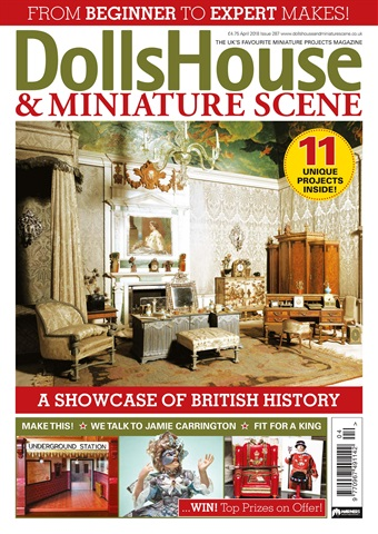 Dolls House and Miniature Scene issue April 2018 (287)