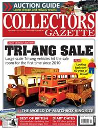 Collectors Gazette issue April 2018