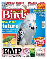 Cage & Aviary Birds issue 14th March 2018