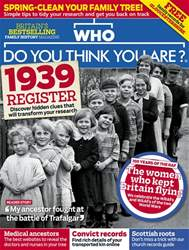 Who Do You Think You Are? Magazine Cover