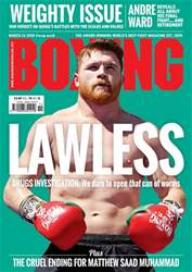 Boxing News issue 13/03/2018