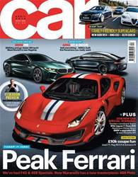 Car issue April 2018