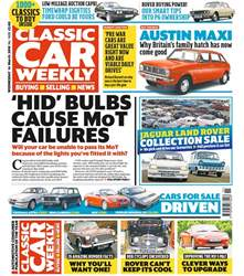 Classic Car Weekly issue 14th March 2018