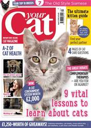 Your Cat issue Your Cat Magazine April 2018