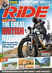 Ride issue May 2018