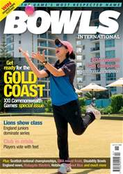 Bowls International issue   April 2018