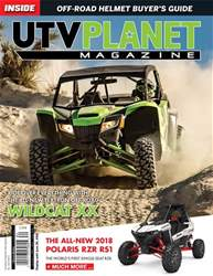 UTV Planet Magazine issue April / May / June 2018