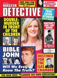 Master Detective April 2018 issue Master Detective April 2018