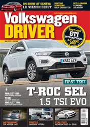 Volkswagen Driver issue April 2018