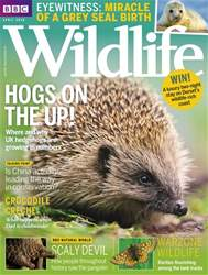 BBC Wildlife Magazine issue April 2018