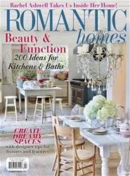 Romantic Homes issue April 2018